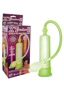 Xtender Ii Glow In The Dark Penis Pump 8 Inch