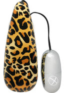 Primal Instinct Bullet With Leopard Remote
