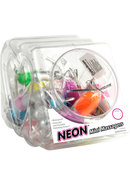 Neon Mini Massager Bullets Waterproof Assorted Colors 24...