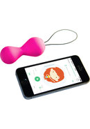 G Balls 2 With App Silicone Pelvic Trainer Waterproof Petal...