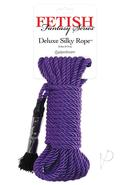 Festish Fantasy Series Deluxe Silk Rope Purple 32 Feet