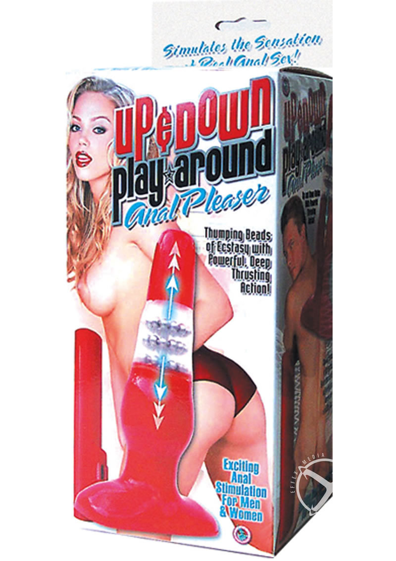 Up And Down Play Around Anal Pleaser For Men And Women Red