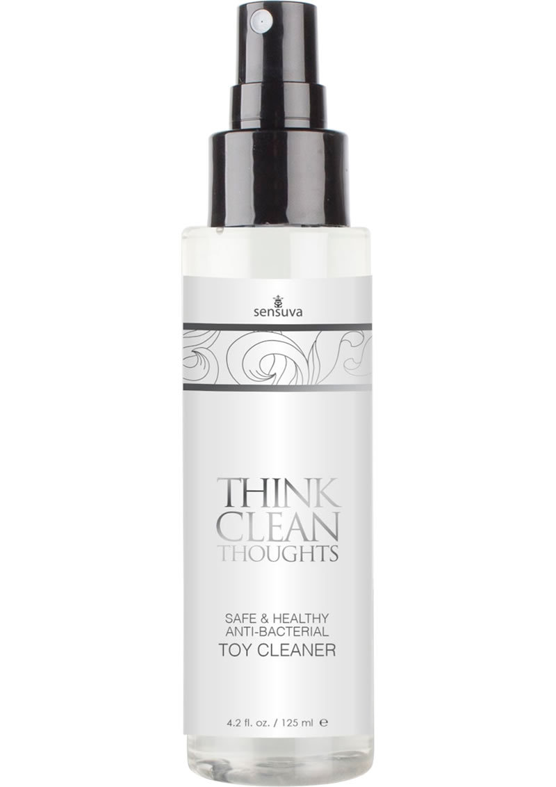Think Clean Thoughts Anti Bacterial Toy Clearner 4.2 Ounce Spray