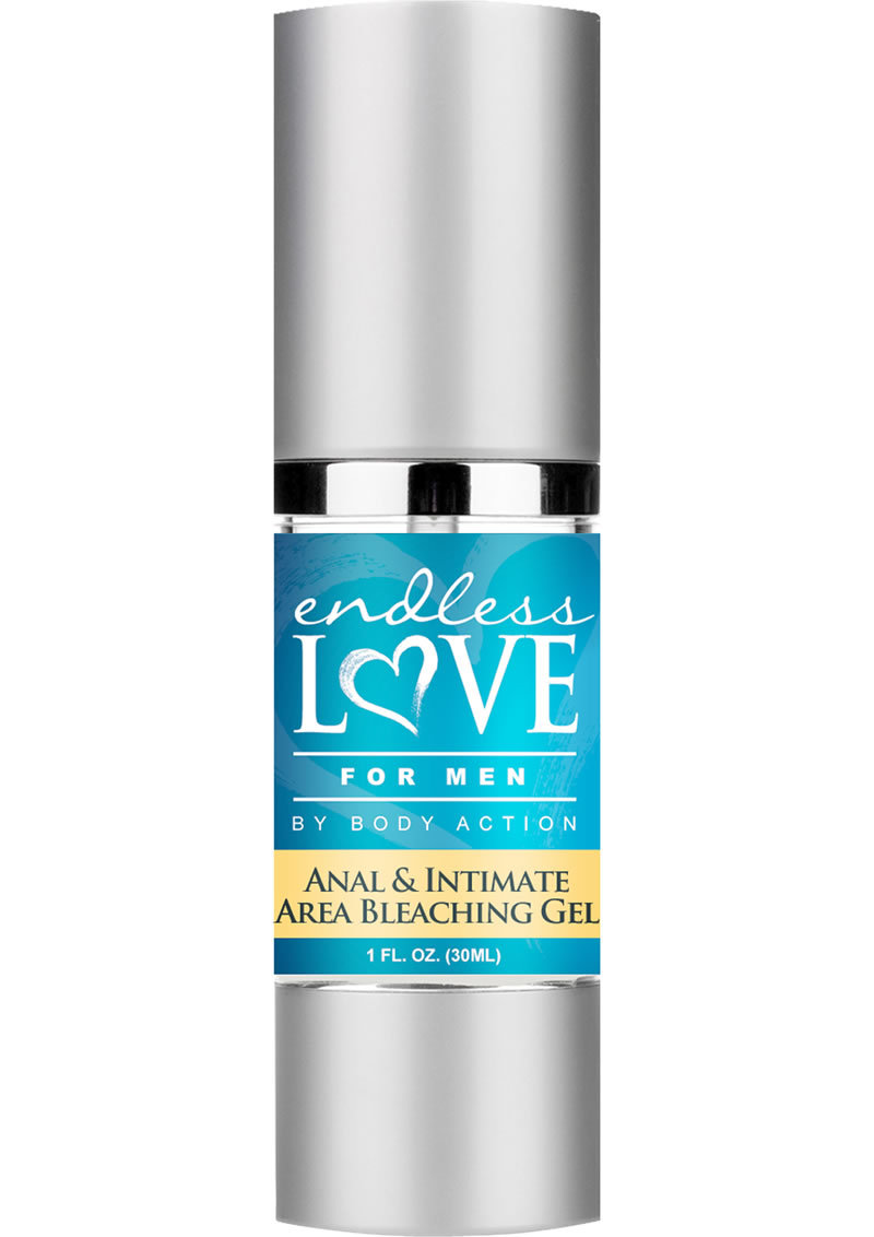 Endless Love For Men Anal And Intimate Area Bleaching Gel 1 Ounce