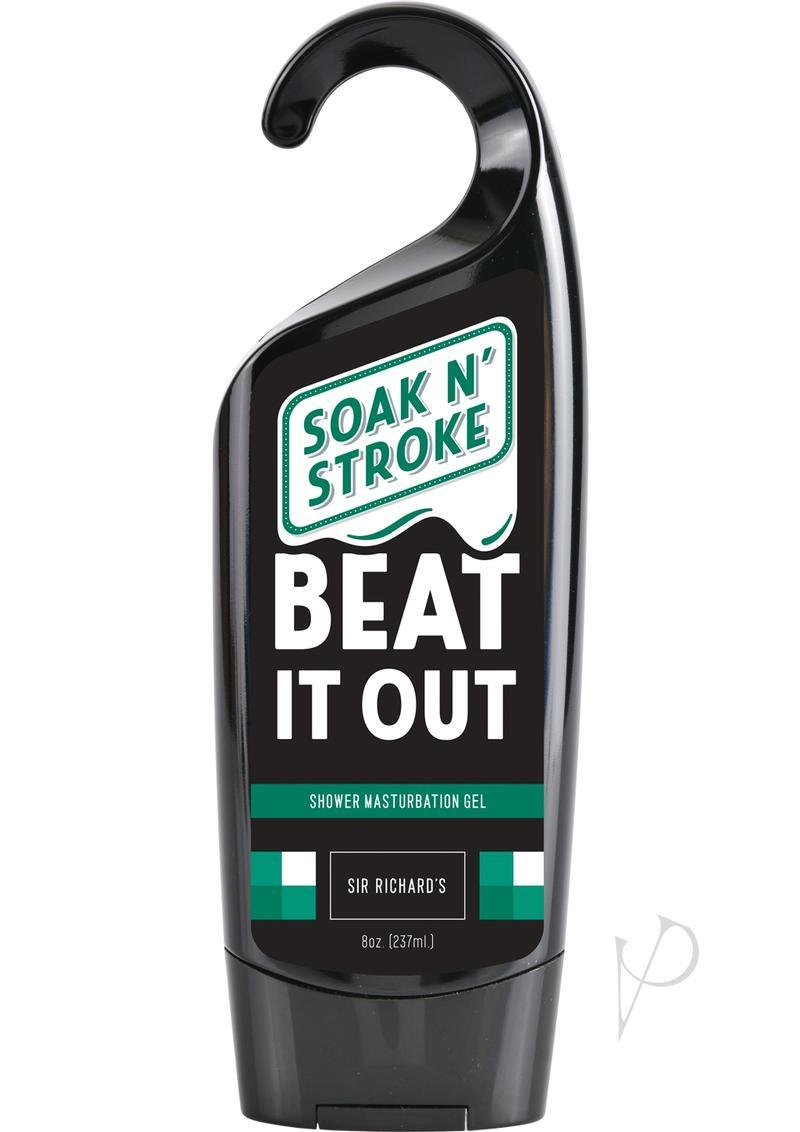Soak N` Stroke Masturbation Gel 8fl Oz