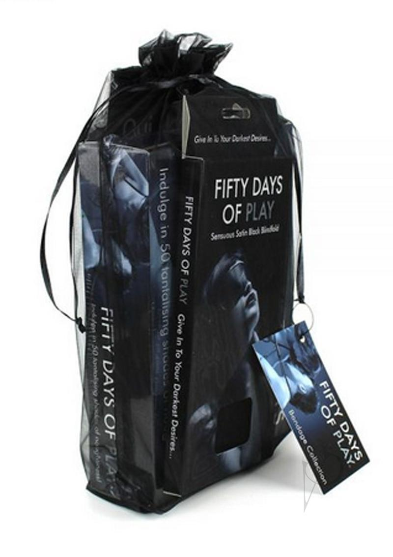 Fifty Days Of Play Bondage Collection Kit