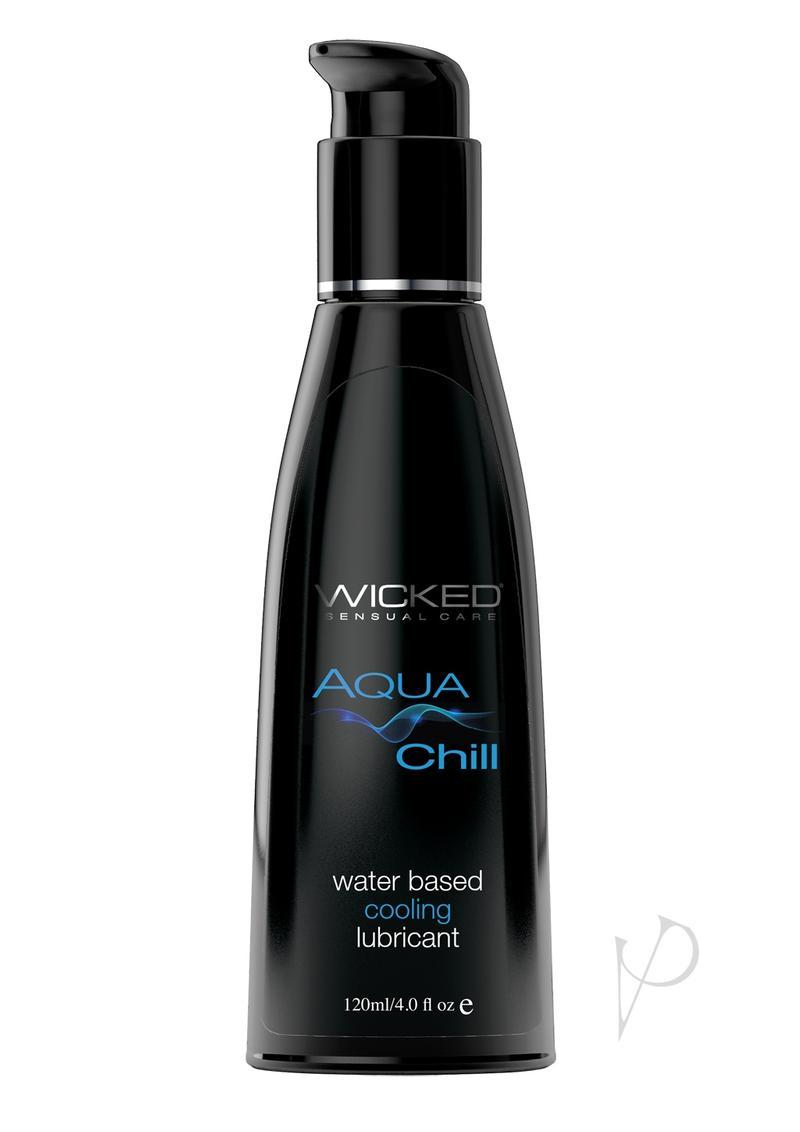 Wicked Aqua Chill Cooling Lubricant 4 Ounce