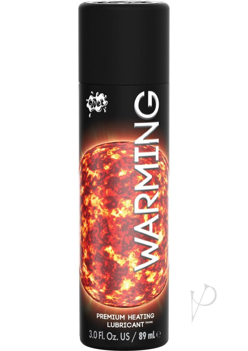 Wet Warming Water Based Gel Lubricant 3.7 Ounce